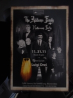 The Addams Family Carte Postale - Advertising