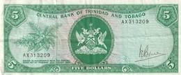 5 Dollars 1964 - Trinidad & Tobago