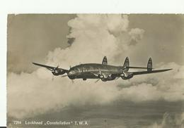 LOCKHEED  CONSTELLATION  T W A - 1946-....: Era Moderna