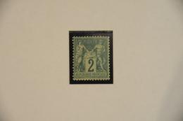 SAGE  N°  62  NEUF  *  COTE  1800 €  SIGNE  SCHELLER - 1876-1878 Sage (Type I)