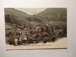 Orsières Et La Route Du Grand St. Bernard 1914 (5086) - VS Valais