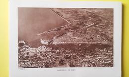 MARSEILLE : LE PORT Carte Photo 25,5 X 15,5 Année 60 - Vieux Port, Saint Victor, Le Panier