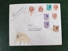(32203) STORIA POSTALE ITALIA 1977 - 6. 1946-.. Repubblica