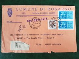 (32206) STORIA POSTALE ITALIA 1977 - 6. 1946-.. Repubblica