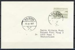 Grönland, Schiffspost; MS Disko, MiNr. 87; B-1188 - Storia Postale