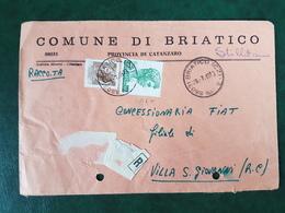 (32216) STORIA POSTALE ITALIA 1978 - 6. 1946-.. Repubblica