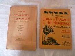 Lot De 2 Livres Scolaires  Madagascar - Andere