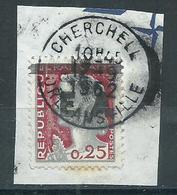 Marianne Decaris Belle Obliteration Cherchell - 1962-65 Cock Of Decaris