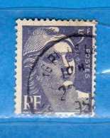 France °- 1951 - .Yvert. 883 . Obliterer. Vedi Descrizione. - Francia