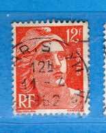 France °- 1951 - .Yvert. 885 . Obliterer. Vedi Descrizione. - Francia