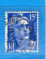 France °- 1951 - .Yvert. 886 . Obliterer. Vedi Descrizione. - Francia
