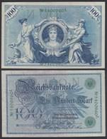 Reichsbanknote - 100  Mark 1908 Ros. 34  XF (2)    (22339 - [ 2] 1871-1918 : Impero Tedesco