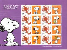 2012 China Cartoon Dog SNOOPY Special Sheet - 1949 - ... Repubblica Popolare