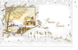 MIGNONNETTE BONNE ANNEE FORMAT 7 X11CM EDUG - Nouvel An