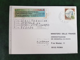 (32229) STORIA POSTALE ITALIA 1996 - 6. 1946-.. Repubblica