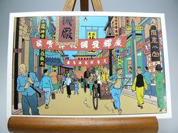Carte Postale Tintin - Stripverhalen