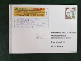 (32230) STORIA POSTALE ITALIA 1996 - 6. 1946-.. Repubblica