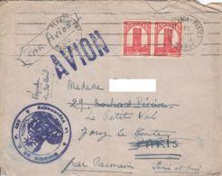 MAROC - 1945 - Lettre  Militaire Par Avion Pour La France - SP 402 - Marokko (1891-1956)