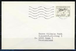 Grönland; MiNr. 98 Auf Brief Nach Deutschland; Gest.: Holsteinsborg (Sisimiut); B-1271 - Groenlandia