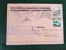 (32233) STORIA POSTALE ITALIA 1990 - 6. 1946-.. Repubblica