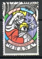 GHANA. N°488 Oblitéré De 1973. Vitrail. - Vetri & Vetrate