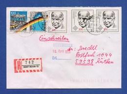 BRD R-Brief Einschreiben MiF - BÜNDE - [7] West-Duitsland