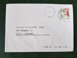 (32235) STORIA POSTALE ITALIA 1998 - 6. 1946-.. Repubblica
