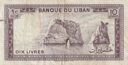 10 Livres - Libanon