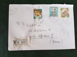 (32239) STORIA POSTALE ITALIA 1992 - 6. 1946-.. Repubblica