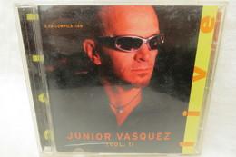 """2 CDs """"Junior Vasquez"""" Live, Vol. 1 - Dance, Techno & House"""