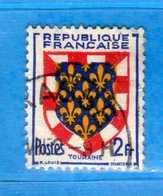 France °- 1951 - Yvert. 902 . Obliterer. Vedi Descrizione. - Francia