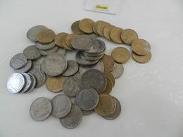 Lot  De 54    Monnaies   (  10 De 10 Francs Turin  + 10 De 5 Francs 1933  + 20 De 50 Centimes   Marianne 1962 -63 -64 + - Monete & Banconote