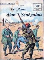 """E03 Collection """"Patrie"""". Rouff. Guerre 1914-1918 N° 56 Le Roman Du Sénégalais.lortac. - Guerre 1914-18"""