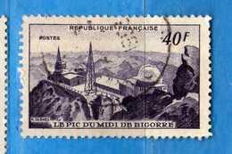 France °- 1951 - Yvert. 916 . Obliterer. Vedi Descrizione. - Francia