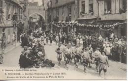 18 BOURGES N° 8 Cortège Historique Du 1er Juillet 1923 Joueurs De Vielle Et De Cornemuse - Bourges
