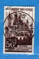 France °- 1951 - Yvert. 917 . Obliterer. Vedi Descrizione. - Francia