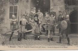 18 BOURGES N° 1 Fêtes De L'Argentier Jacques Coeur - Groupe De Seigneurs Et De Soldats - Bourges