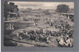 PAKISTAN Camel Market Peshawar City Ca 1905 OLD POSTCARD - Pakistan