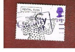 GRAN BRETAGNA.GREAT BRITAIN -  SG 1908  -  1996  GREETINGS SAMPS: CARTOONS (MENTAL FLOSS) FROM BOOKLET  - USATI - 1952-.... (Elisabetta II)