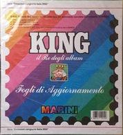 Fogli Aggiornamento Marini King Nuovi Imballati Italia Anno 2002 Congiunta O.N.U. Ginevra - Album & Raccoglitori