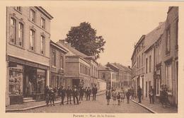 BELGIUM - Perwez - Rue De La Station - Perwez