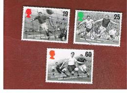 GRAN BRETAGNA.GREAT BRITAIN -  SG 1925.1929  -  1996   EUROPEAN FOOTBALL CHAMPIONSHIP  - USATI - 1952-.... (Elisabetta II)