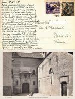 ESPAGNE - Carte Postale Pour La France - 1931-50 Briefe U. Dokumente