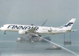 Finnair Airbus A350-9  OH-LWE At Hong Kong, China - 1946-....: Modern Era