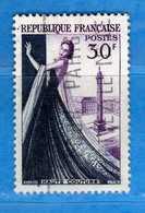France °- 1953 - Yvert. 941 . Obliterer. Vedi Descrizione. - Francia