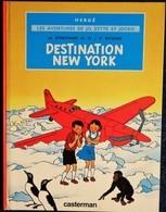 """Hergé - Le Stratonef H. 22 / 2e épisode - """" Destination New-York """" - Les Aventures De Jo, Zette Et Jocko - Casterman . - Jo, Zette & Jocko"""