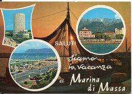 SALUTI, Siamo In Vacanza A MARINA Di MASSA - Vedute - Massa