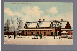 PAKISTAN Quetta, Soldiers Home, Winter Ca 1915 OLD POSTCARD - Pakistan