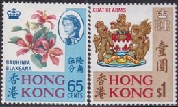 Hong Kong     .   SG  .    253/254     .    *    .    Mint-hinged     .   /    .   Ongebruikt - Unused Stamps