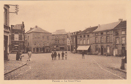 BELGIUM - Perwez - La Grand Place - Perwez